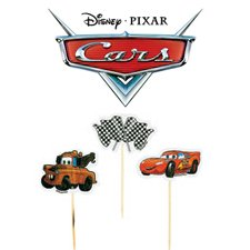 Cars 2 Cupcake Picks (24ct)