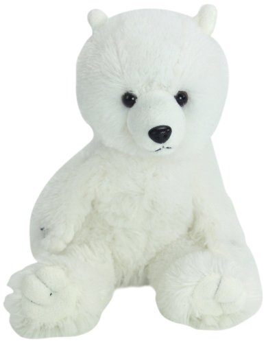"Purr-Fection Tender Friend Polar Bear 12"" Plush"