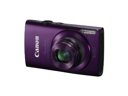 Canon PowerShot ELPH 310 HS 12.1 MP CMOS Digital Camera with 8x Wide-Angle Optical Zoom Lens and Full 1080p HD Video (Purple)