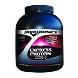 THREE PACKS of Boditronics Express Protein XRT-4 ChocMint