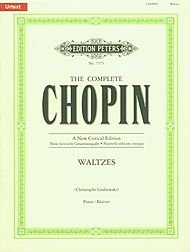 Waltzes (The Complete Chopin A Critical Edition) by Edition Peters