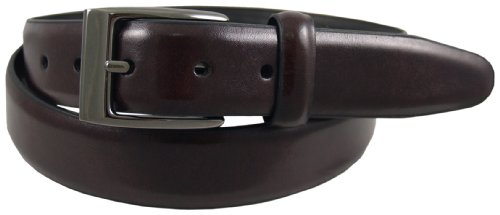 Dockers Men's 30Mm Feather Edge Belt,Cordovan,38