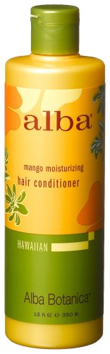 Alba Botanica Mango Moisturizing Hair Conditioner, 12-Ounce Bottle (Pack Of 2)
