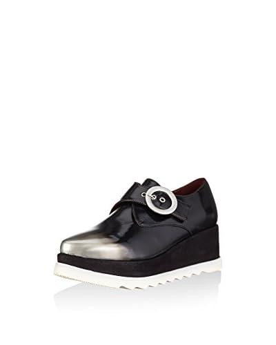 Desigual Zapatos Monkstrap Negro
