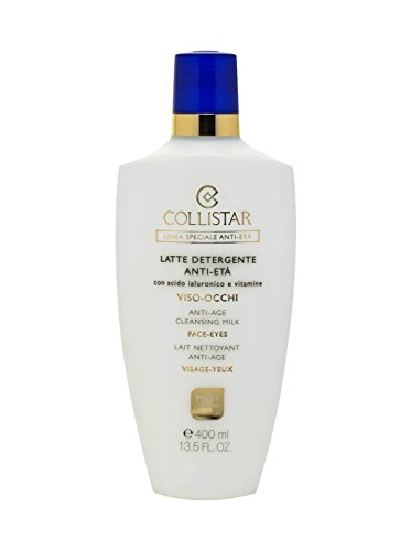 Collistar Anti-Età Latte Detergente Maxi 400 Ml Con Acido Ialuronico