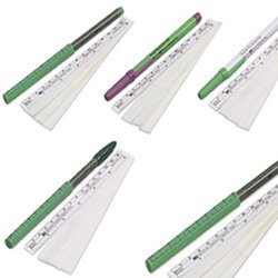 Kendall DEVON Surgical Skin Markers, 160-R Regular Tip, Flexible Ruler, EACH