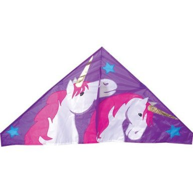 Delta Kite (56in) - Unicorns