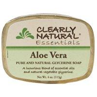 Clearly Natural Soap Aloe Vera 4 Oz
