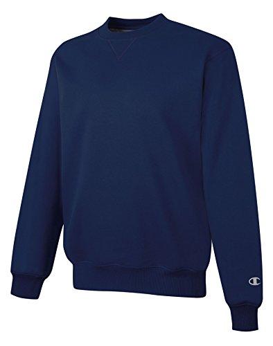 Cotton Max Crew Sweatshirt, Navy, XL