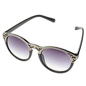 Unisexe dšŠgradšŠ de gris Lens Sunglasses Cat Eye (couleurs assorties)