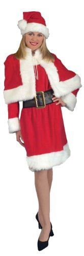 Forum Novelties Women's Miss Santa Suit Costume