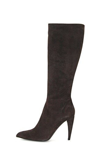 Prada Womens 1W9391 Leather Boots