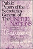 img - for Public Papers of the Secretaries General of the United Nations by Andrew W. Cordier (1978-10-15) book / textbook / text book