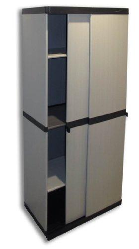 kunststoffschrank garten sonstige preisvergleiche erfahrungsberichte und kauf bei nextag. Black Bedroom Furniture Sets. Home Design Ideas