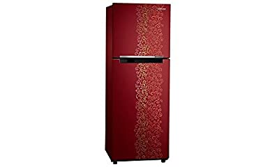 Samsung RT28K3022RJ/HL Frost-free Double-door Refrigerator (253 Ltrs, 2 Star Rating, Royal Tendril Red)