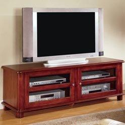 Cheap Walnut Finish TV Console Stand by Coaster Furniture (B0051PEFQY)