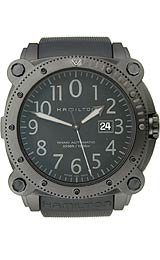 Hamilton Khaki BeLOWZERO 1000M Automatic Black Dial Men's Watch #H78585333