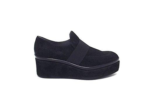Scarpa Janet & Janet donna, 38100, scarpa camoscio nero nr 38 A6102