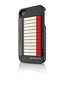 Musubo Matchbook Case for iPhone 4/4S- Black