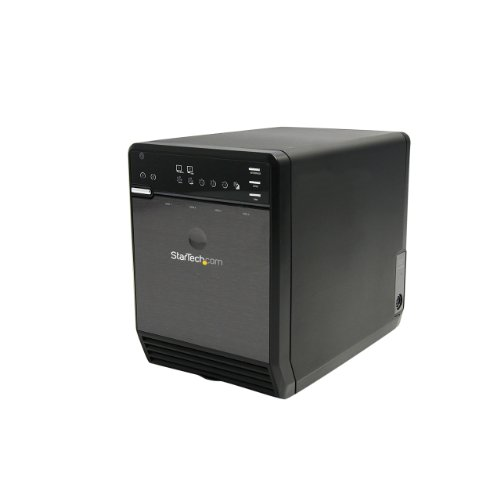 StarTech 3.5 inch 4 Drive eSATA USB Multi Bay External Hard Drive Enclosure