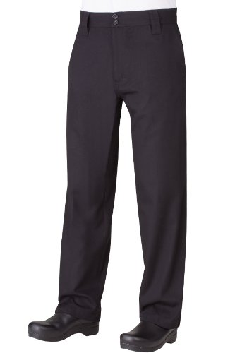 Chef Works Men's Professional Chef Pant (PS005) (Mens Restaurant Work Pants compare prices)