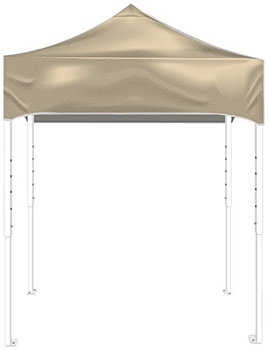 Kd Kanopy Ps64C Party Shade Steel Frame Indoor/Outdoor Portable Canopy, 8 By 8-Feet, Cream