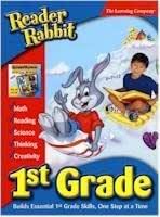 READER RABBIT FIRST GRADE W/ KID PIX 3