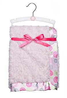 Nursery Rhyme® Pink Rose Plush Blanket - 1