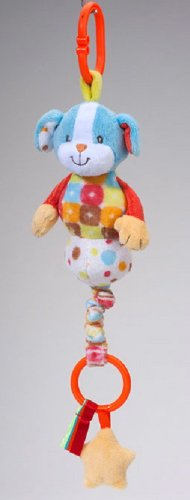 """Paly Tivity Dog Pullee Zip 10"""" by Douglas Cuddle Toys"""