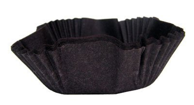 Brown Square Cupcake Baking Cup Liners 90-100 Count by GSA