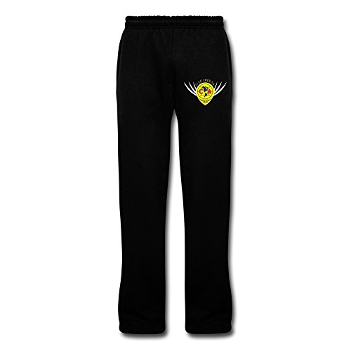 Black VAVD Male's Club America Silm Sweat Pants Size M (Club America Sweats compare prices)