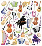 Multi-Colored Stickers-Orchestra
