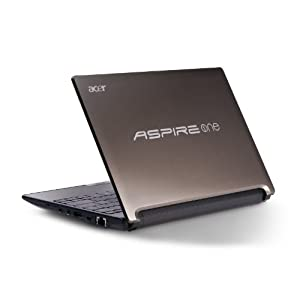Acer Aspire One D255 25,4 cm (10 Zoll) Netbook (Intel Atom N550, 1,5GHz, 1GB RAM, 250GB HDD, Intel 3150, Win 7 Starter)
