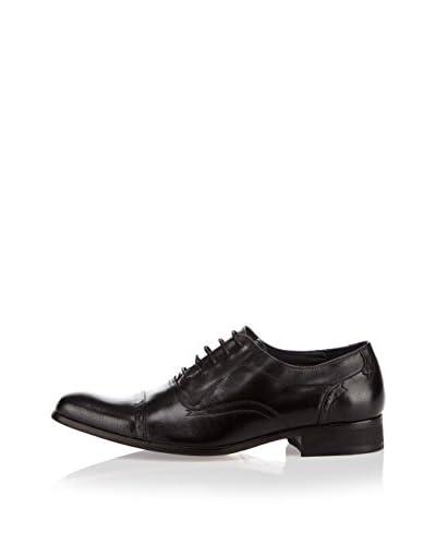 Azor La Mode Zapatos Oxford Negro