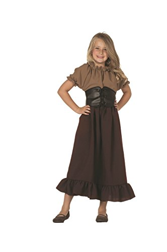 Renaissance Peasant Girls Costume Small(4-6)