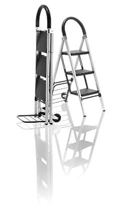 Travel Smart by Conair LadderKart Professional Grade Stepladder / Hand Cart