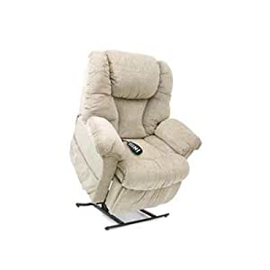 Elegance Medium 3 Position Lift Chair With Split Back Fabric: Fabric - Pacific (Quick Ship), Heat and Massage: None
