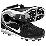 Nike Air Zoom Coop V Mens Size 16 Baseball Cleats Black & White 330060-011 by Nike