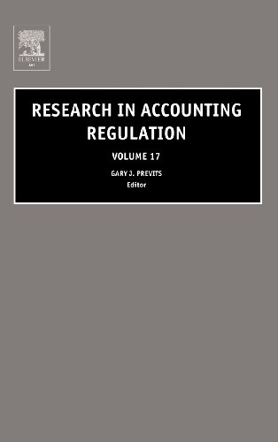 Research in Accounting Regulation, Volume 17 (Vol. 17)