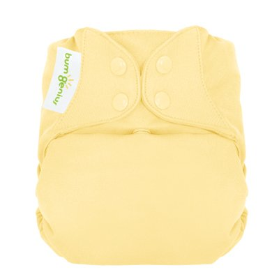Freetime (Snap) Aio Diaper With Stay Dry Liner - Butternut front-780981