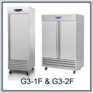 Migali G3 Series Reach In Freezers : Migali G3 Series Freezer - 2 Dr (G3-2F)