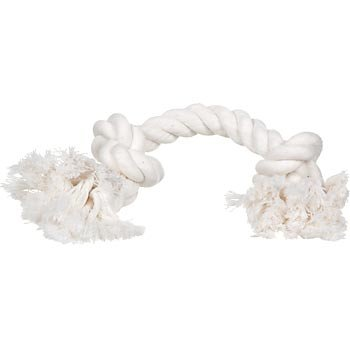 Booda Bone Small White Rope Dog Toy
