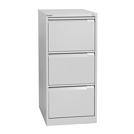 Bisley A4 Size A4BS3E- 3 101 cm Filing Drawer - Goose Grey