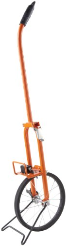 Keson MP301DM 0.318m Diameter 1-Meter Circumference Steel Frame Metal Spoked Measuring Wheel