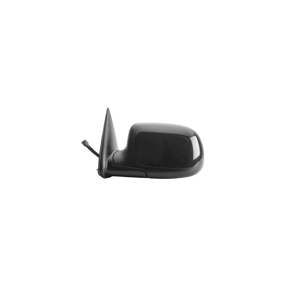 KAP GM1320226 New Chevrolet Silverado & GMC Sierra 1500, 2500, 3500 Driver Side Mirror Electric Power Heated Black Left Door Replacement