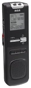 RCA VR5220 512 MB Digital Voice Recorder  (Black)
