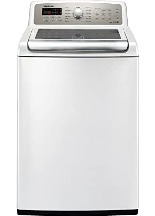 Samsung WA484DSHAWR  4.8 Cu. Ft. King-Size Capacity Top Load Washer with 13 Wash Cycles, Neat White