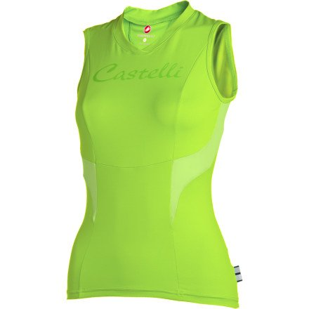 Buy Low Price Castelli Dolce Sleeveless Women's Jersey (B007ISP728)