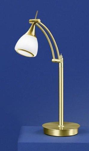Glas-Messing-Tischleuchte-Mistral-Power-LED-Tischlampe-Design