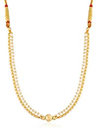 I Jewels Gold Plated Traditional Thushi Necklace For Women L3104